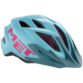 MET Crackerjack Helmet Kids light blue/magenta